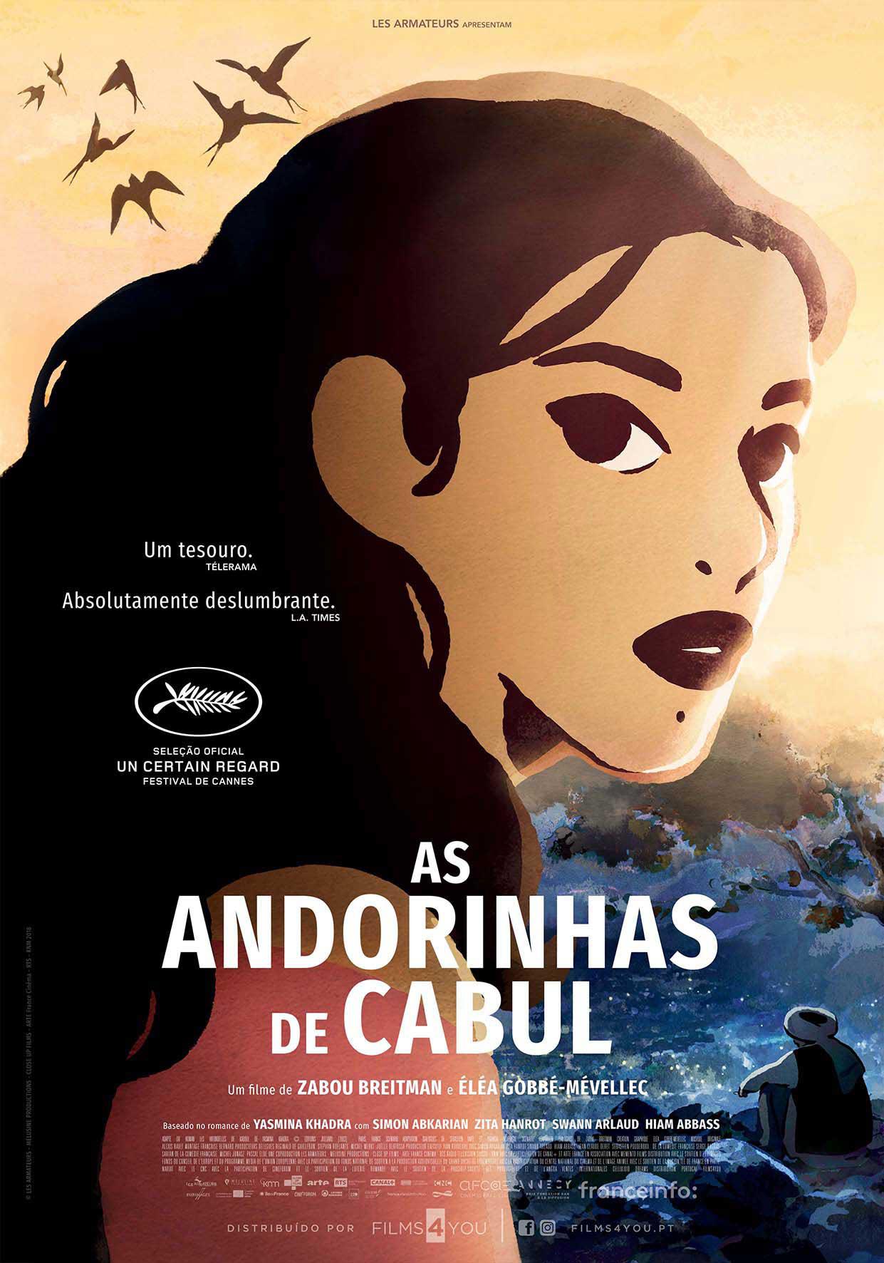 AS ANDORINHAS DE CABUL