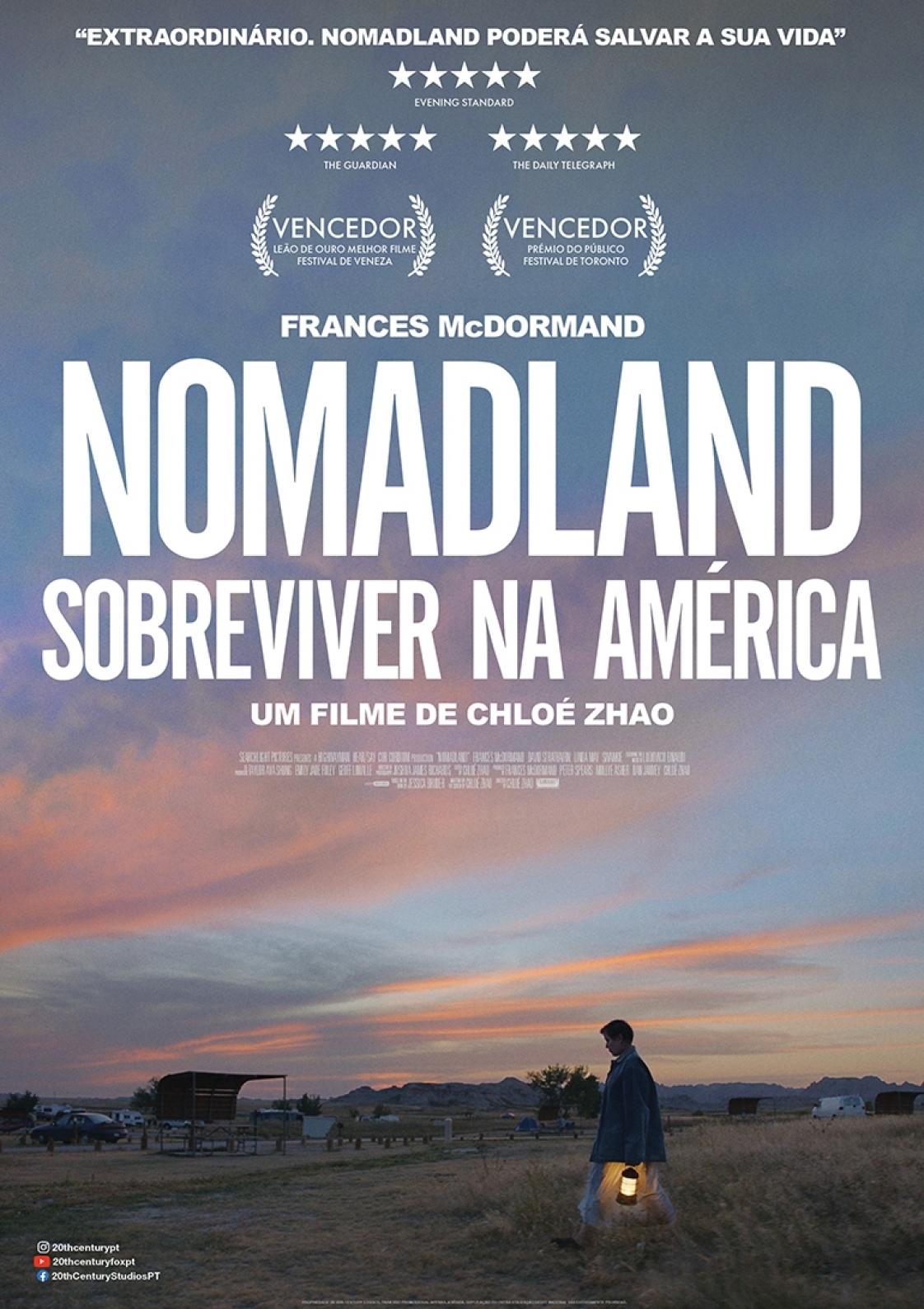 NOMADLAND – Sobreviver na América